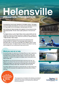Hellensville Business Pollution Prevention