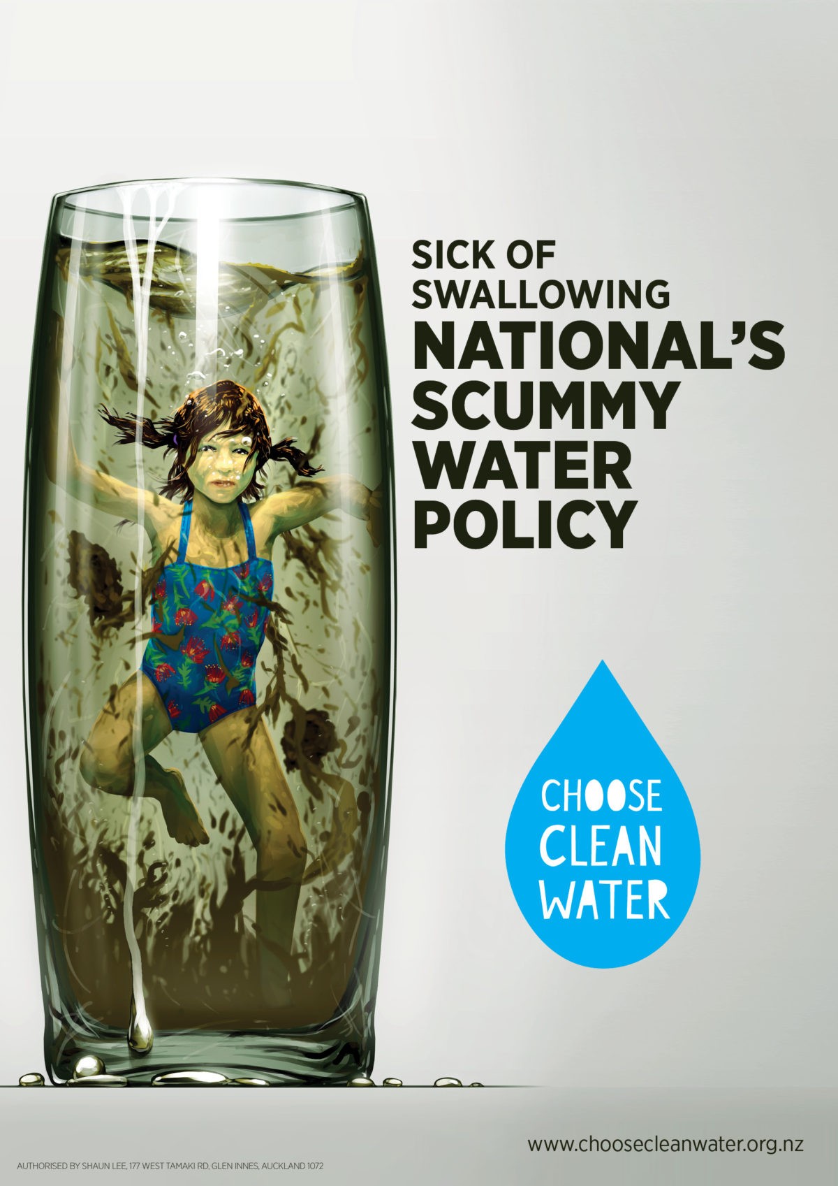 Sick of swallowing National's scummy water policy?